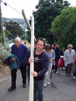 Carrying their crosses in Jesus' footsteps Archdiocese of Wellington