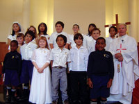 First Holy Communion in Hastings Archdiocese of Wellington