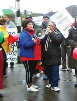 Hospital cleaners stand solid against transnational Archdiocese of Wellington