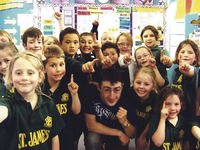 St James' pupils fired up by Special Olympics hero Archdiocese of Wellington