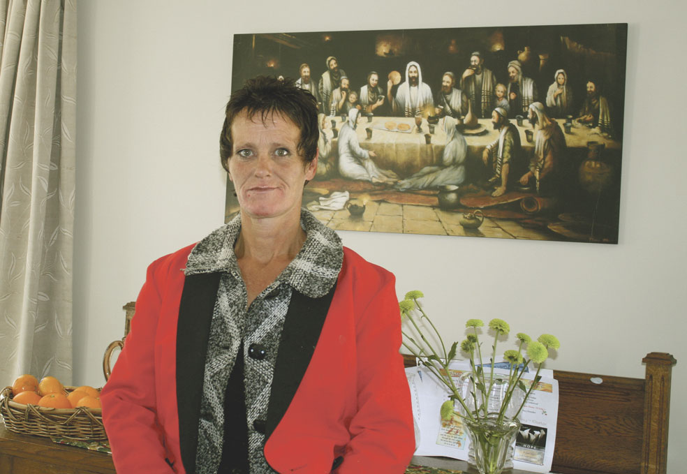 Homeless woman grateful to churches Archdiocese of Wellington