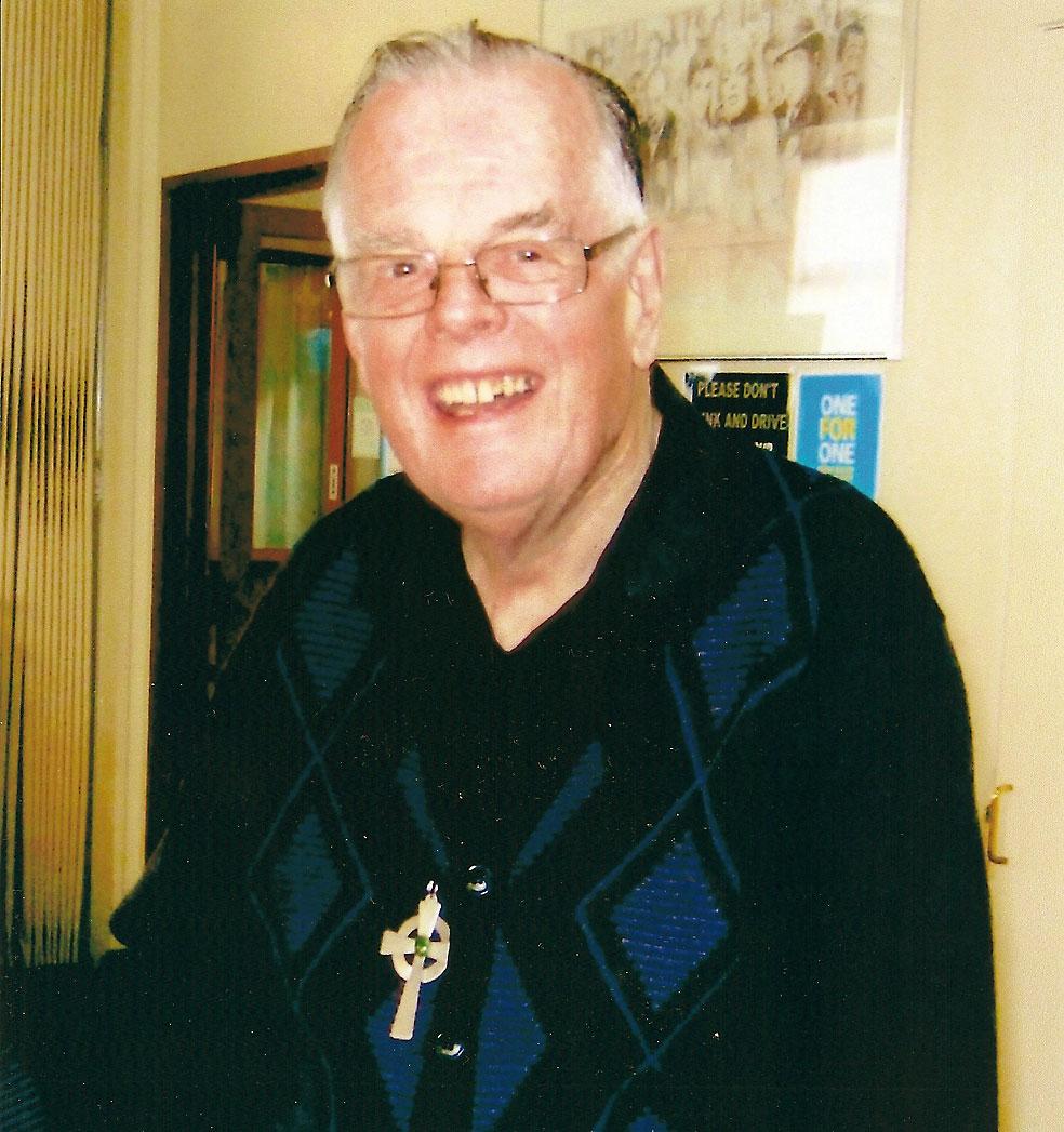 Mgr 'Fr' Tim Hannigan.