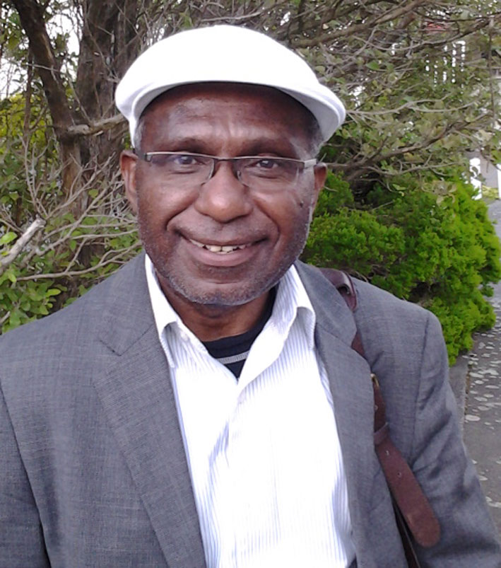 Exiled West Papuan independence leader Octo Mote.
