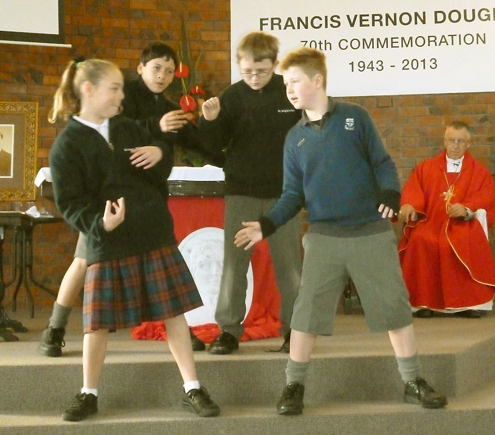 Out there starts here in local hero's memory Archdiocese of Wellington