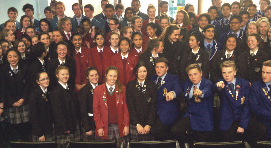 Young Vinnies brings colleges together Archdiocese of Wellington
