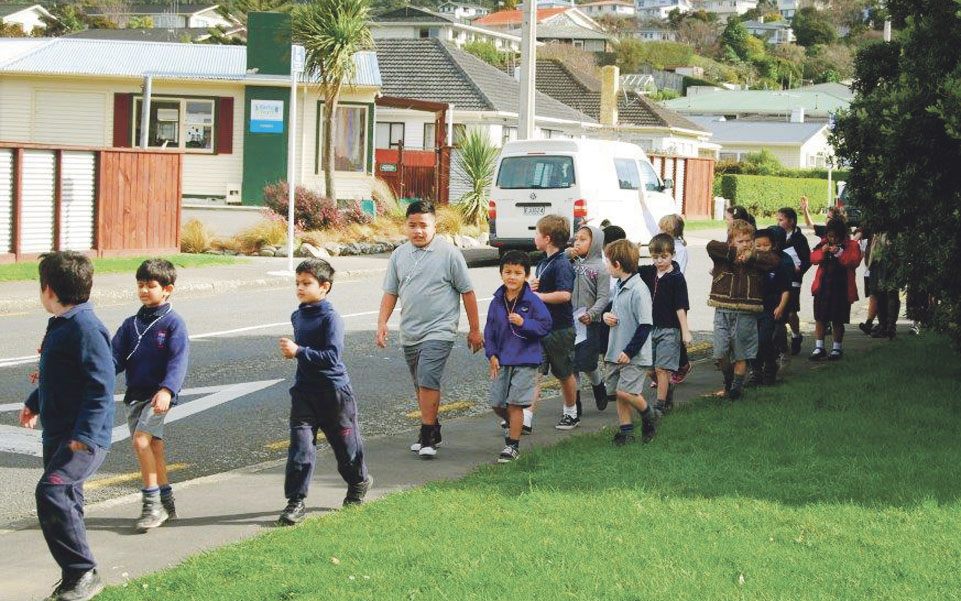 Students learn Tawa history on faith walk Archdiocese of Wellington