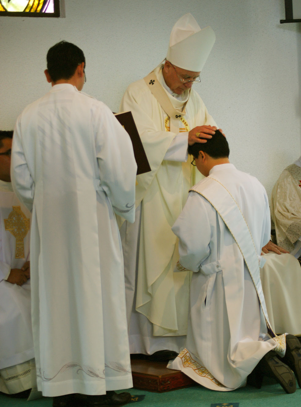 Fr Dennis Nacorda ordained Archdiocese of Wellington