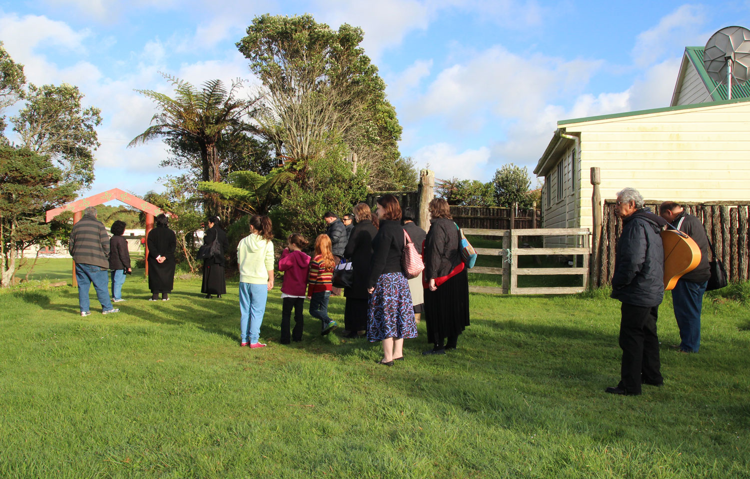 Parihaka - a personal view Archdiocese of Wellington
