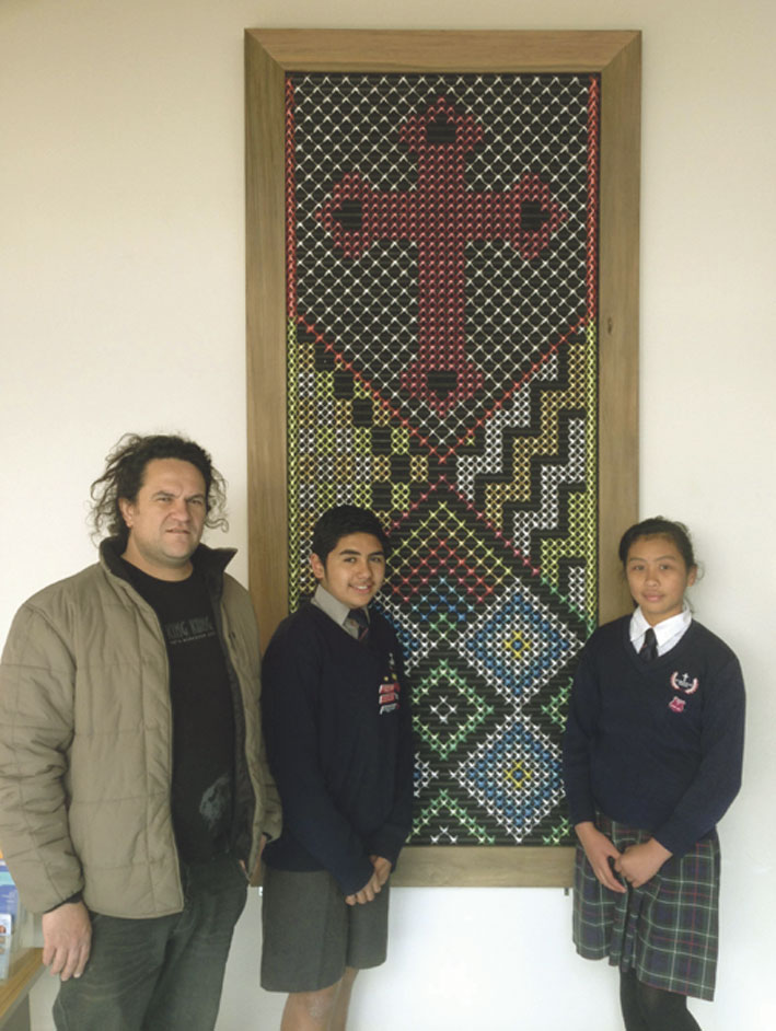 New panels unveiled at Gonville Archdiocese of Wellington