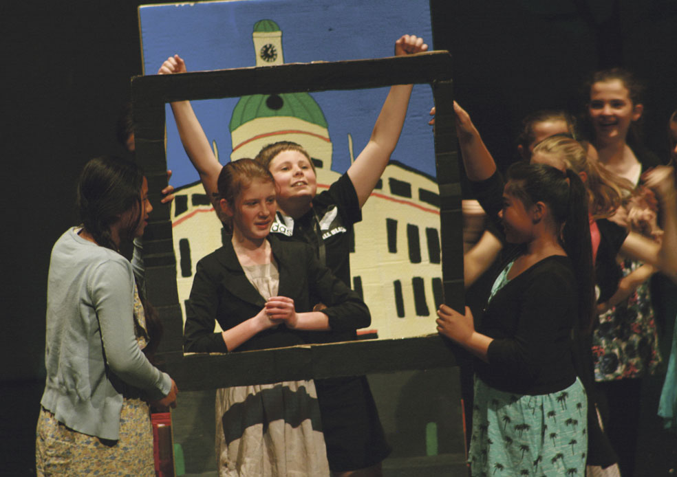 Napier pupils create history show from scratch Archdiocese of Wellington