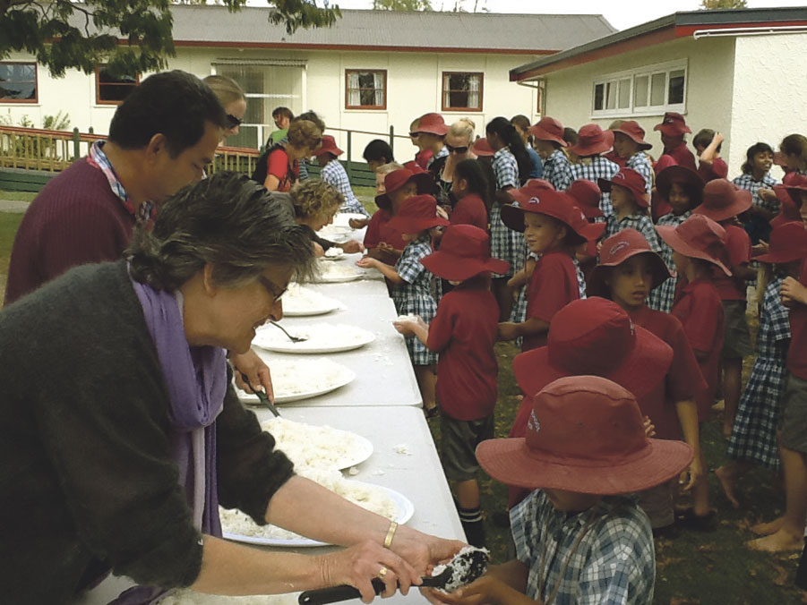 Rice day appeal Archdiocese of Wellington