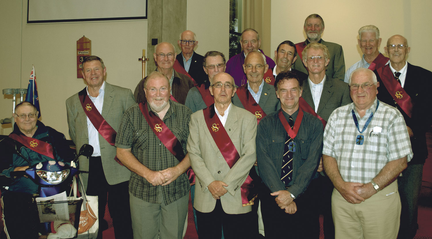 Two new knights of the Southern Cross in Napier Archdiocese of Wellington