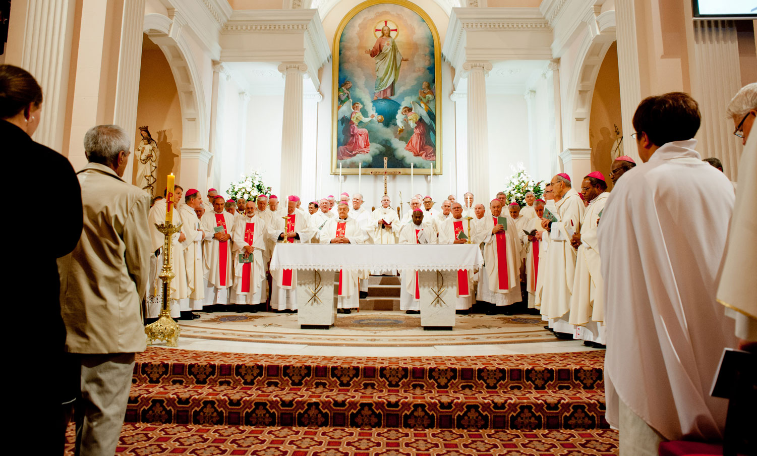 Bishops' opening Mass unforgettable Archdiocese of Wellington