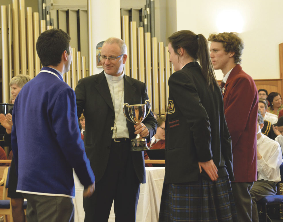 O'Shea – outright win for St Caths Archdiocese of Wellington