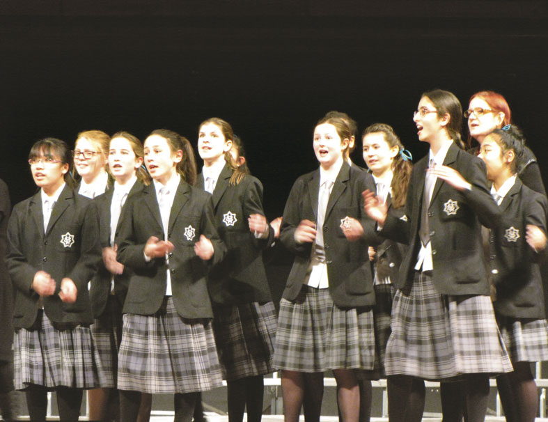 St Mary's choirs shine at Big Sing Archdiocese of Wellington
