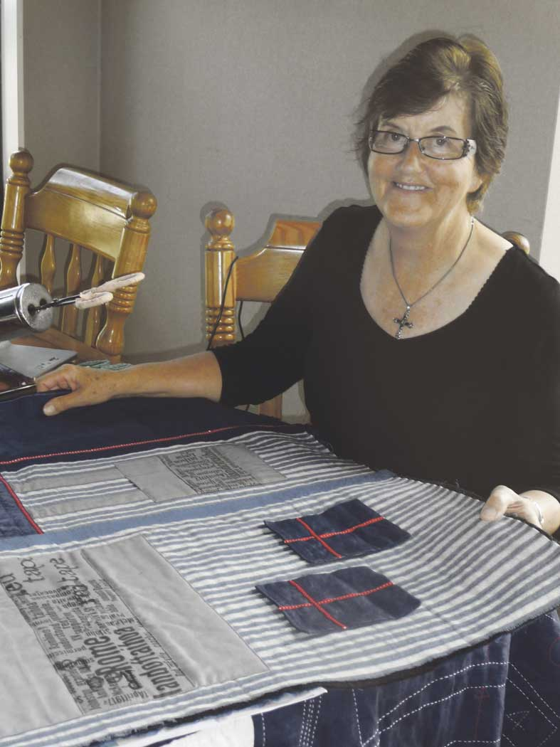 Celebrating Aubert through quilt Archdiocese of Wellington