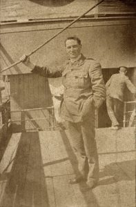Fr Patrick Dore was wounded at Gallipoli, returned to NZ, and died in 1918. Photo: Waiouru Museum