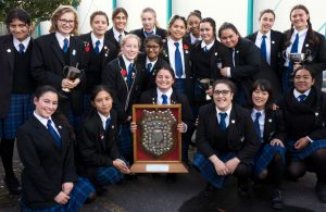 St. Catherine's College winning team