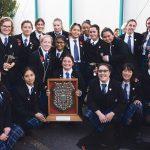 St Catherine's College O'Shea Shield winning team 2016.