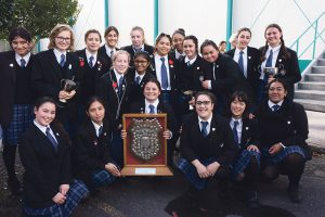 St Catherine's College O'Shea Shield winning team 2016.