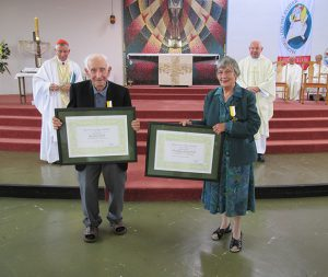 Island Bay's Tony and Eileen Muollo recognised by Pope Francis for dedication to their community.