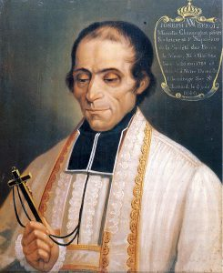 St Marcellin Champagnat 'whose heart knew no bounds'.  Image: Ravery, via Wikimedia Commons