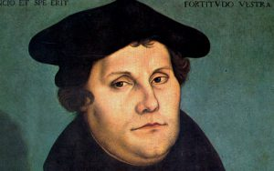 Martin Luther (1483‒1587) catalyst of the Protestant Reformation in the sixteenth century. Via Wikimedia Commons