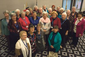 Pictured at the national conference in Christchurch last month are delegates from the NZCWL Wellington and Palmerston North diocesan branches.  Photo: Annette Scullion