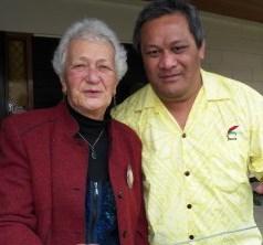 Ko Marguerite Osborne rāua ko Lafaele, Te Pariha o Te Whaea Tapu o Kāpiti