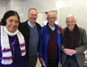 2016 – Ko Sr Mina Fetu'u DOLC rātou ko Pā Gerard Burns, ko Pā Paddy Kinsella SM, ko Pā Colin Durning, Te Pariha o Te Ngākau Tapu