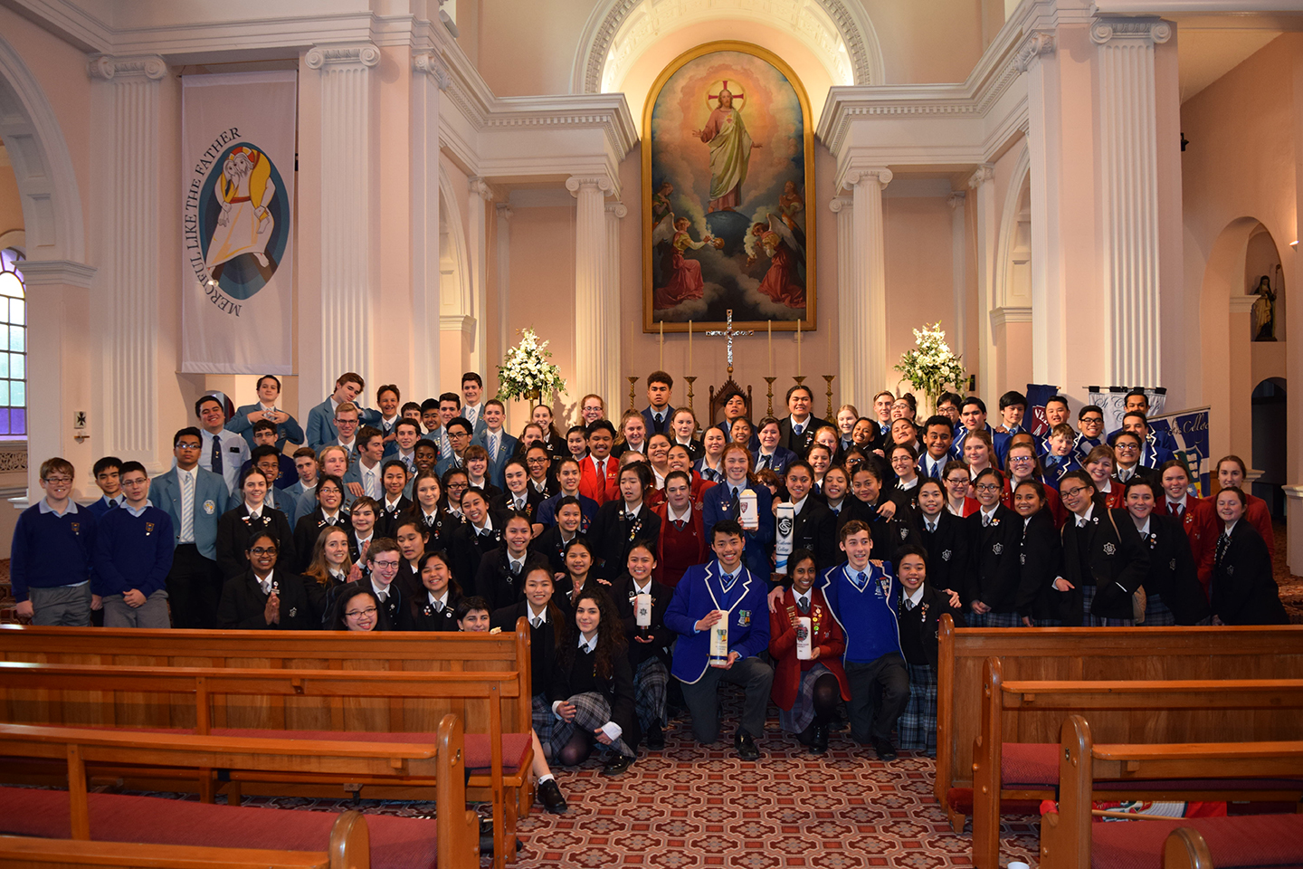 Young Vinnies Celebrate Mass Archdiocese of Wellington
