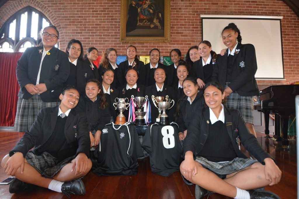 St Mary's College Rugby Winners Archdiocese of Wellington