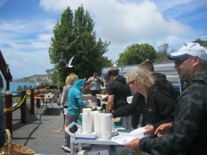 Kaikōura community spirit pooling together.