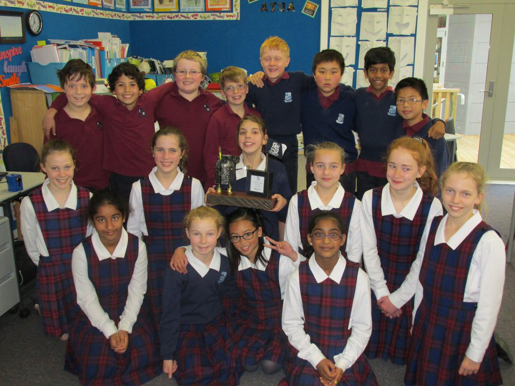 Room 8 was the first class to receive the EPIC Eddie award.