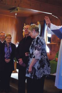 Rob and Lynn Hill blessed as new Passionist Family Group Leaders.