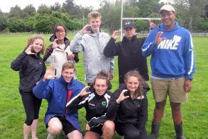 Students from Palmerston North Diocese colleges.