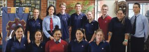 Catholic College Dux and Special Catholic Character Awards 2016; and Student Leaders 2017 Archdiocese of Wellington