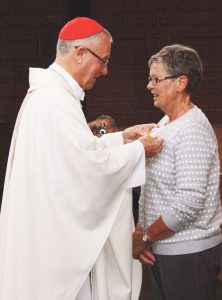 Papal Medal for parishioner Archdiocese of Wellington