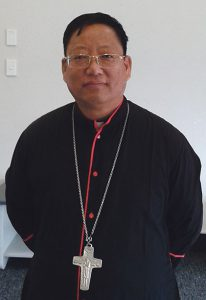 Myanmar Bishop visits Nelson Archdiocese of Wellington