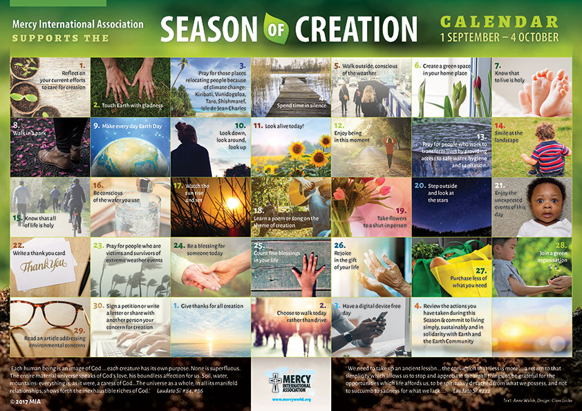 Day of Prayer for Care of Creation Archdiocese of Wellington