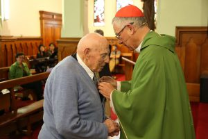 Papal Medal for Brendan Gilmore Archdiocese of Wellington
