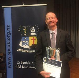 St Patrick's College Old Boy of the Year 2017 Archdiocese of Wellington