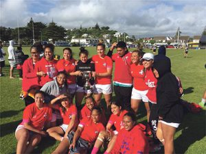 MSP are Wellington Women's Sevens champions Archdiocese of Wellington
