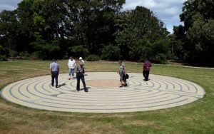 Labyrinth Blessed at Anam Cara, Ōtaki Archdiocese of Wellington