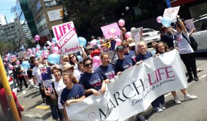 Hundreds March for Life Archdiocese of Wellington