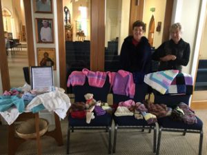 Wairarapa Knitting for Christchurch Children Archdiocese of Wellington