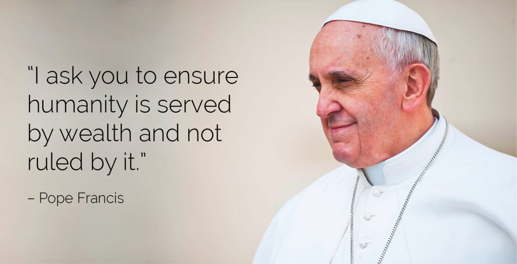 Pope tells world leaders to promote social justice Archdiocese of Wellington