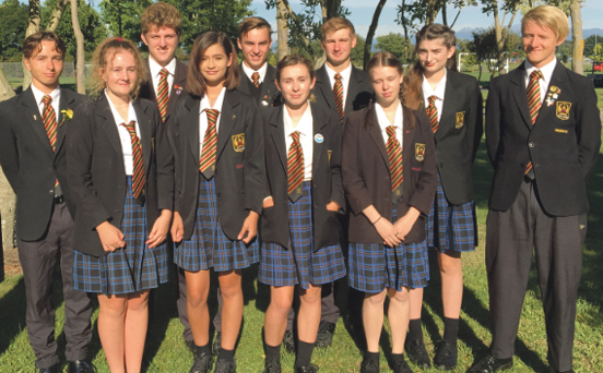 Catholic College Dux and Special Character Awards 2017 and Student Leaders 2018 Archdiocese of Wellington