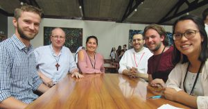 'Hearts Aflamed' at annual gathering Archdiocese of Wellington