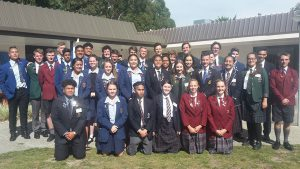 Chanel College at Marist Student Leaders' Forum Archdiocese of Wellington